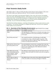 Plate Tectonics Study Guide_6_16.docx