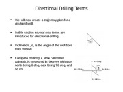Topic 3 Directional Drilling