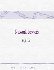 NetworkServices.ppt
