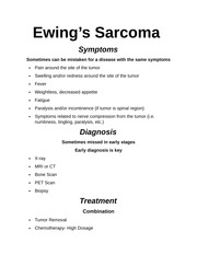Ewings Sarcoma