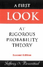 A First Look at Rigorous Probability Theory, 2ed (Jeffrey S. Rosenthal)