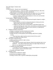 Phil 1100 Chapter 1 Section Notes