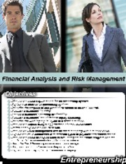 L8-Financial Analysis and Risk Management-BA-311
