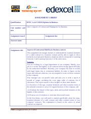 Business law- Assignment 1 Brief- CONTRACT-06032014 (1)