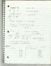 Elementary Algebra II Chapter 3 Notes