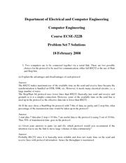 ECSE 322 Problem Set 7 Solutions