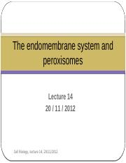 Lecture 14- The endomembrane system and peroxisomes.pptx