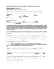 TBTN Event Participation Agreement