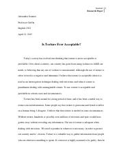 Research Paper-torture