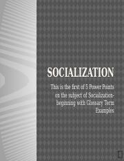 Socialization Glossary Term examples (1).pptx