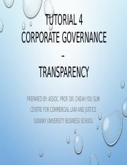 Tutorial 4 -Corporate Governance.pptx