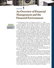 CHAPTER 1 An Overview of Financial Management and the Financial Environment