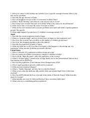 World In The Balance Worksheet Docx World In The Balance The