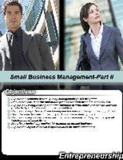 L7-Small Business Management Part II-BA-311