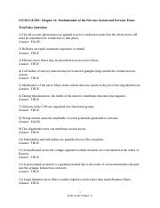 Study Guide Chapter 11