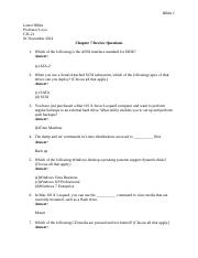 cis review questions Cis 200 midterm review questions study guide by zeilmannnoah includes 111 questions covering vocabulary, terms and more quizlet flashcards, activities and games help you improve your grades.