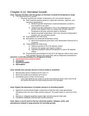 Clinical Microbiology Notes Ch. 6-8,10,13,14.docx