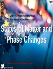 Phase Changes Lesson 2.pptx