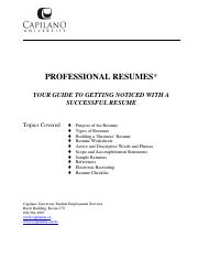 SES_Professional_Resume_Guide