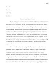 English 111 Research Paper