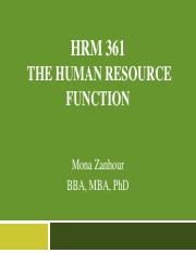 Chapter 1-intro to HR