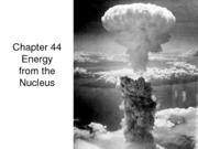 AP3202 Week 10 nuclear energy