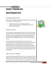 Finance CHAPTER 6interest caln