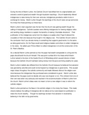 Essay 3 (Martin Luther)