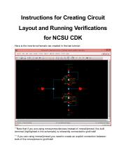 Layout+and++Verification+Using+NCSU+CDK+in+Cadence