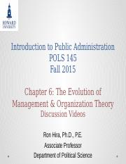 Introduction to Public Administration Lecture  Chapter 6 Chipotle vs McDonalds (1).pptx