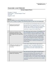 crt205 mapping an argument Editor's note: following is a revised version of a story printed in the jan 7, 2015,  issue of paw.
