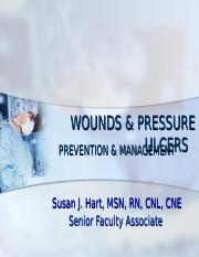 SHU ADULTS I WOUNDS & PRESSURE ULCERS UPATED SPRING 2014
