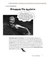 Chap 1 Breaking the Surface
