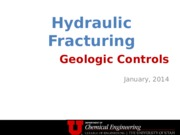 Hydraulic Fracturing Principles 2