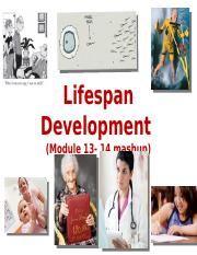PSY 101V Lifespan Development (student view)