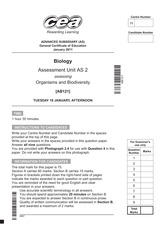 A2AS-BIOL--REVISED-Past-Papers--Mark-Schemes--Standard-January-Series-2011-7907