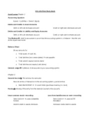 ACC221 Final Study Guide