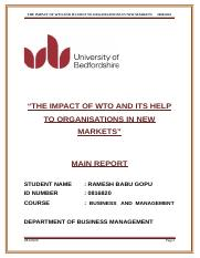 Main Report on Business & management - 4(0816820).doc