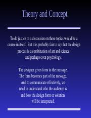 Design theory and Concept.ppt