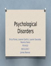 Draft Psychological Disorders.pptx