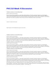 PHI 210 Week 4 Discussion.docx