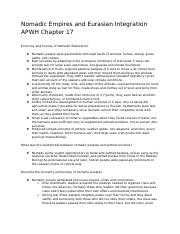 Chapter 17 APWH Notes