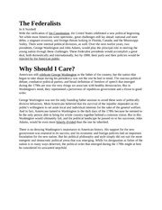 The Federalist1