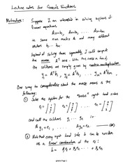 Notes on Green's Functions