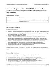 BSBWHS501_AssessmentRequirements_R1