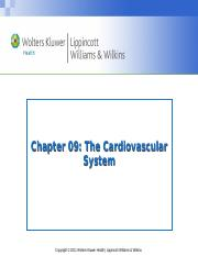 Chapter009- cardiovascular and lymphatic systems.ppt
