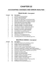 ch22 ACCOUNTING CHANGES AND ERROR ANALYSIS.doc