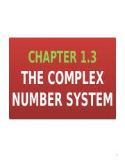 Unit 1.3 The Complex Number System as a Number Field.pptx