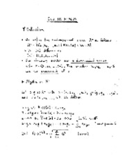 Scalar fields notes