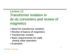 472 Lecture 12 Intro_transformer_isolation_magnetics_review.pdf